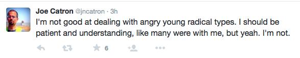 Angry Young Radical